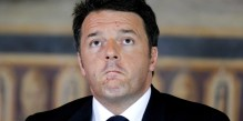 Italian Prime Minister Matteo Renzi looks on during a meeting at the Capitol Hill in Rome, Italy, May 5, 2016. REUTERS/Max Rossi/File Photo